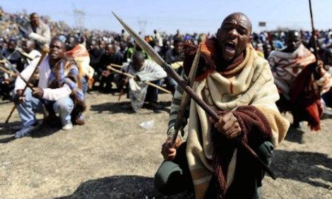 Riots after the death of Mandela