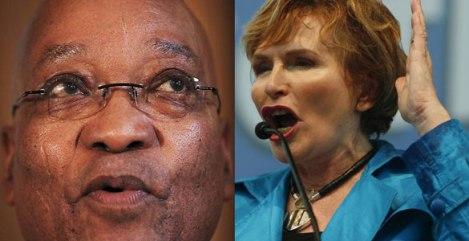 Jacob Zuma / Helen Zille