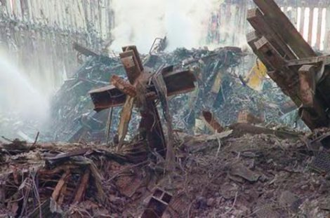 World Trade Center 9/11 Cross