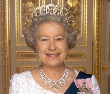 Her Royal Highness Queen Elizabeth II, ruler of the world of Britain