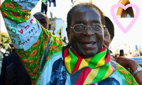 Robert Mugabe Gay Outfit