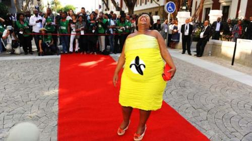 The Official Banana Newsline State of the Nation Dress.