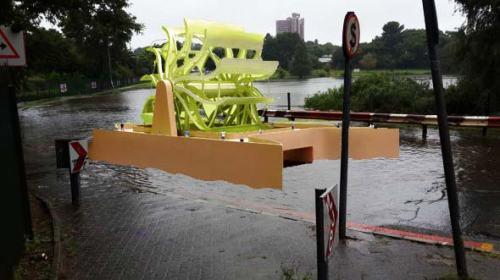 Eskom's proposed hydro-turbine in Brixton, Johannesburg.