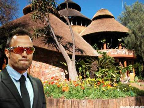 Oscar Pistorius selfie taken outside Safari Restaurant