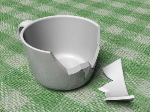 No rooibos tea will ever be drunk from this cup ever again. An earthquake destroyed it, and most of South Africa, on Tuesday,  August 2014.