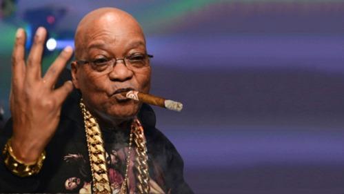 J-Zuma living it up, Nkandla style.