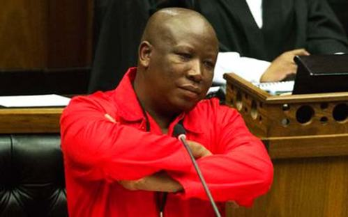 Julius Malema is waiting for an answer. Still waiting.