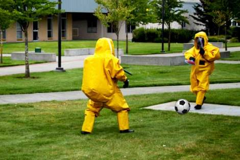 Bafana Bafana in training for AFCON 2015