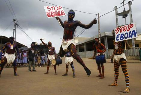 Protests have severely hampered Ebola's rapid spread.