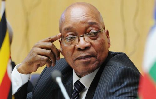 Jacob Zuma explains how a vacuum can exist within a contained space.